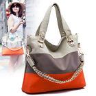 Women PU Leather Satchel Messenger Bag Shoulder Handbag Tote Hobo Purse