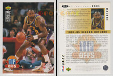 NBA UPPER DECK 1994 COLLECTOR'S CHOICE - Karl Malone #191 - Ita/Eng - MINT