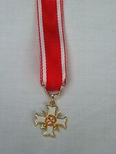 CROCE DI GALA CAVALIERE ORDINE DI MALTA SPADE INCROCIATE SWORDS CROSSED MEDAGLIA