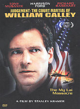 Judgement: The Court Martial of William Calley(DVD, 2003) HARRISON FORD