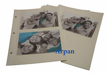 Self Adhesive Photo Album 20 Sheet/40 Sides Refill For Ring Binder Album - 6804