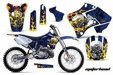 Yamaha Graphic Kit AMR Racing Bike Decal YZ 125/250 Decals MX Parts 96-01 MOTO U