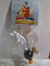 Super Mario Figures Key Ring Chain PORTACHIAVI BOMBA Bob-omba
