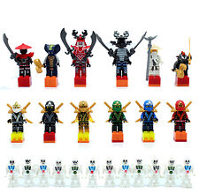 24pcs Ninjago Ninja Super Hero Mini Figure Lego Jay Walker Kai Zane Julien