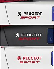 For Peugeot - 'PEUGEOT SPORT' CAR DECAL STICKER  - 106 206 208 308 - 220 x 50mm