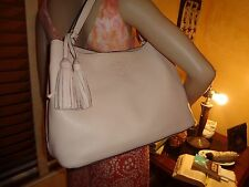 NWT TORY BURCH THEA Center-Zip Slouchy TOTE Sweet Melon Leather $495 DUSTBAG