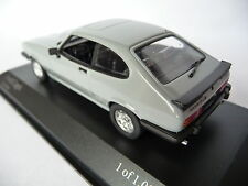 Minichamps 1:43 Ford Capri Mk3 1982 Grey 082228