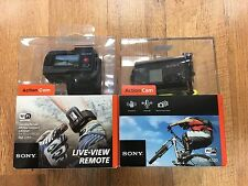 Sony HDR-AS20 Camcorder - Black and Sony Live View Remote RM-LVR1!!! BRAND NEW