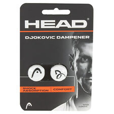 HEAD DJOKOVIC TENNIS AMORTISSEUR / SHOCK ABSORBER 1 PAIR par paquet de