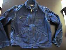 NEW Vintage Oshkosh B'Gosh Rockabilly Jean Chore Jacket Size 42 R Made In USA