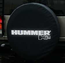 Hummer H2 Black Non-Reflective Spare Tire Cover Soft GM Brand New