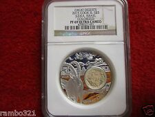 2015 Cook Islands $5 1Oz Silver Coin Great Deserts Judea Israel NGC PF69 bullion