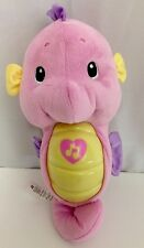 Fisher Price Seahorse Soothe & Glow Ocean Wonders Plush Pink Lullabies Toy Baby