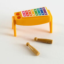 Playmobil Xylophone Percussion Musical Instrument, dollhouse parts custom loose