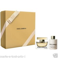 DOLCE & GABBANA COFFRET OR FEMME THE ONE EAU DE PARFUM INOUBLIABLE + LAIT CORPS