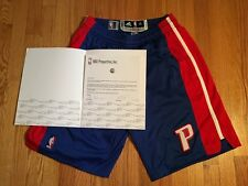 Brandon Knight 2013 all-star weekend game worn Pistons blue shorts, MeiGray LOA