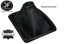 BLACK STITCH MANUAL LEATHER GEAR GAITER FITS MERCEDES W201 190E 1982-1993