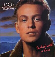 """JASON DONOVAN Sealed With A Kiss 1989  UK 12"""" vinyl single EXCELLENT CONDITION"""