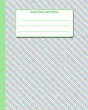 Composition Notebook : 8 X10 - Rainbow Gingham Cover from Scrawlables. com by...