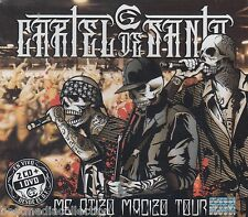 2 CD's / DVD - Cartel De Santa CD NEW Me Atizo Macizo TOUR Desde El DF SEALED