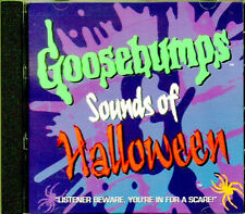 GOOSEBUMPS: SOUNDS OF HALLOWEEN - CLASSIC SCARY HAUNTED HOUSE EFFECTS & MUSIC CD