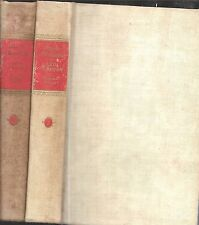 RARE 1939 DELUXE 2-VOLUME SET ANNA KARENINA TOLSTOY COLOR PRINTS RUSSIA