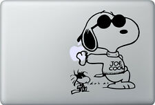 Apple MacBook Air Pro + SNOOPY COOL + Aufkleber Sticker + Woodstock Decal Skin