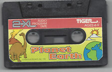 TIGER ELECTRONICS 2-XL TALKING ROBOT CASS TAPE PLAYER TOY PLANET EARTH TESTED