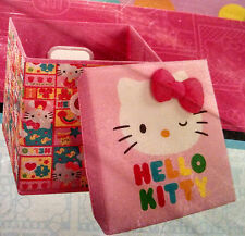 Hello Kitty storage stool cube 11x11x11