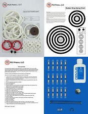 1972 Williams Spanish Eyes Pinball Tune-up Kit  - Includes Rubber Ring Kit