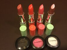 Lot #17 of 4 Clinique Lipstick Plus 3 Free MAC Eye Shadow  *NEW*  Full Size**