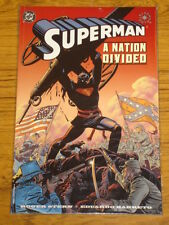 SUPERMAN A NATION DIVIDED DC COMICS ROGER STERN CIVIL WAR REB GN