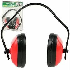 Adjustable Noise Protection 33 db RED Ear Muff Meets ANSI Specs -HAWK ER3