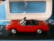 ALFA ROMEO 1300 SPIDER JUNIOR 1970 RED SOLIDO 1/43 ROSSO ROT ROUGE ITALIE CAR
