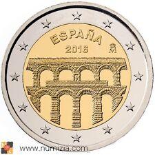ESPAÑA 2 Euro 2016 Acueducto de Segovia (S/C)