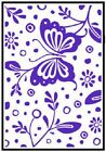 Crafts Too A6 Embossing Folder SPRING