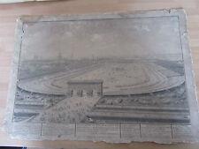 GRAVURE CHAMP DE MARS 14 JUILLET 1790 PREMIER ANNIVERSAIRE PRISE BASTILLE