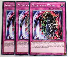 MIL1-EN024 3x NIGHTMARE WHEEL (Ruota Incubo) Common Yugioh