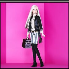 M.A.C. Cosmetics Barbie Doll With Make-Up Case In Fashion Mint NRFB!