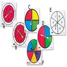 ETA CUISENAIRE SPINNER COLLECTION COLOR/NUMBER MATH TEACHER MANIPULATIVES 4589