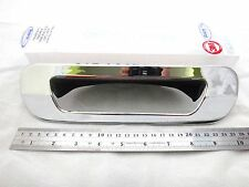 CHROME TAILGATE TAIL REAR BACK DOOR HAND COVER TRIM FOR ISUZU MU-X 2014 SUV V.2