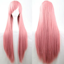 80cm Full Wig Long Straight Wig Cosplay Party Costume Anime Hair Fashion