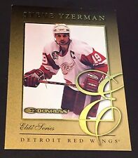 STEVE YZERMAN 1997-98 Donruss ELITE SERIES Gold Insert Card #6 SP #d /2500 HTF!!