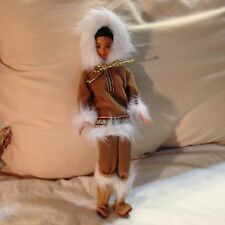 Arctic Eskimo Barbie Doll 1996  or 1997 Dolls of the World