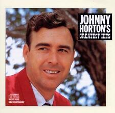 Greatest Hits Johnny Horton (CD, 1987) Columbia Records CK 40665 New Orleans
