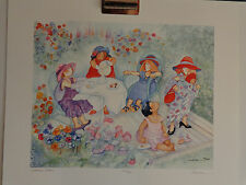 """""""Garden Party""""  Art Print by Barbara Lavallee"""