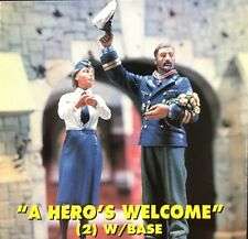 Jaguar Models 1/35 A Hero's Welcome (2 resin figures & Base) - 63063