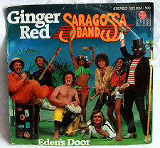 "7"" Vinyl SARAGOSSA BAND - Ginger Red / Eden´s Door"