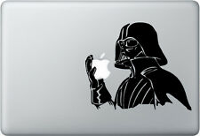 Darth Vader (Star Wars) Holding Apple Macbook, Laptop, iPad, Vinyl Decal Sticker