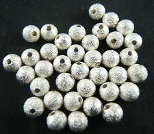 Wholesal Silver/Gold Plated Round Spacer Loose Beads Findings 3/4/6/8/10mm